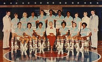 Louisiana Tech Lady Techsters basketball - 1982 Louisiana Tech women's basketball team