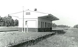 Byford, Western Australia - Image: 1987 IL Boersma Byford Railway Stn