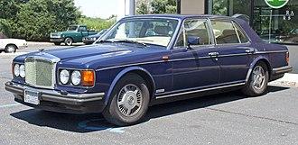 Bentley Eight - Image: 1989 Bentley Eight front left