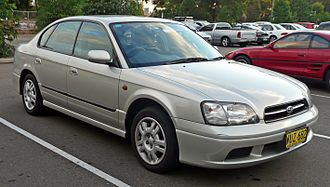 Subaru Legacy (third generation) - Image: 2000 Subaru Liberty (BE5 MY01) GX sedan (2010 05 04) 01