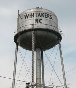 Whitakers' water tower