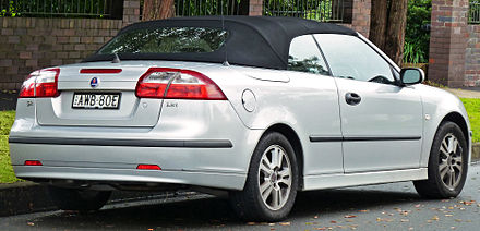 Saab 9 3 Linear 1 8t Convertible Australia