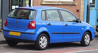 Volkswagen Polo Mk4 - Pre-facelift Volkswagen Polo E (UK)