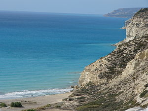 Akrotiri and Dhekelia - Episkopi Bay is on the west coast of Akrotiri.