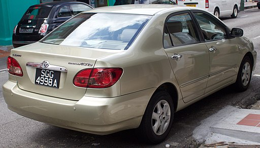 2006 Toyota Corolla Altis 1.6E VVT-i sedan (2016-01-05) 02