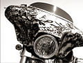 2007 Sturgis Motorcycle Rally, Fairing with skulls.jpg