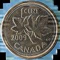 2009 Canadian Penny (49757545391).jpg