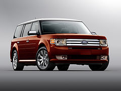 Ford Flex przed liftingiem