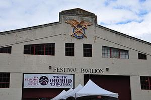 Fort Mason Festival Pavilion Exterior.