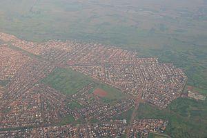 Vosloorus - Aerial view of Vosloorus