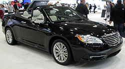 2012 Chrysler 200 convertible -- 2012 DC.JPG