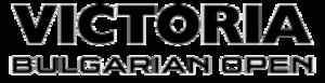 European Tour 2013/2014 – Event 1 - Image: 2012 Victoria Bulgarian Open logo