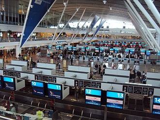 Cape Town International Airport - Check-in hall