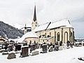 2013 01 20 01B Rauris Pfarrkirche Friedhof.jpg