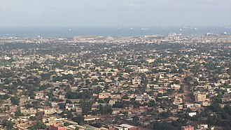 Lomé - Aerial view of Lome