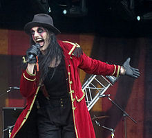 Johannes Eckerström performing with Avatar at Bloodstock ...