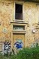 2014 giu Villa Pellegrini Marioni Pullè, Chievo, Verona, photo Paolo Villa Lodge, back side, oriental pilaster strip, door walled FOTO6336bis.jpg