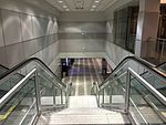 2015-04-14 00 16 41 Stairs and escalator in the corridor connecting Concourse D with Concourse E in Salt Lake City International Airport, Utah.jpg