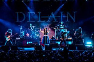 Delain - Image: 20151122 Eindhoven Epic Metal Fest Delain 0058
