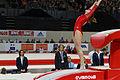2015 European Artistic Gymnastics Championships - Vault - Ksenia Afanasyeva 05.jpg