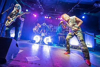 Uriah Heep (band) - Uriah Heep performing live in 2015