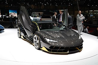 Culture of Europe - Lamborghini Centenario