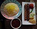 2016-09-03 Kebab dish at Restaurant Persepolis in Beijing anagoria.jpg