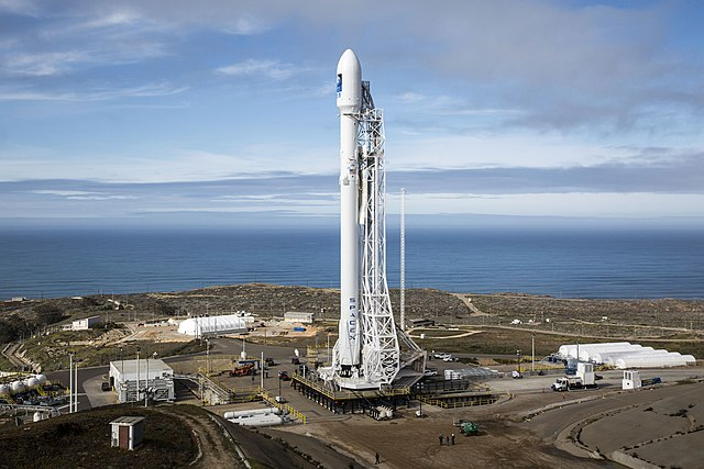 Falcon rocket by SpaceX