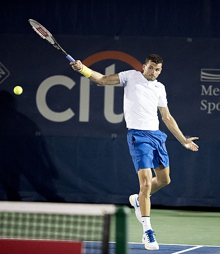 Grigor Dimitrov at the 2017 Washington Open 2017 Citi Open Tennis Grigor Dimitrov (35948754410).jpg