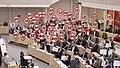 2018 Die SPÖ-Parlamentsfraktion protestiert im Nationalrat gegen den 12-Stunden-Tag und gegen die 60-Stunden-Woche, 5. Juli 2018 (28345285457).jpg