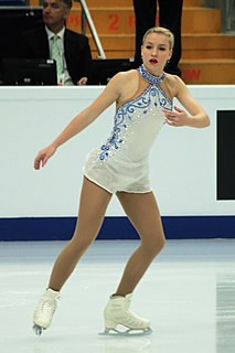Silvia Hugec figure skater