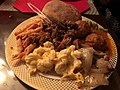 2019-12-24 20 34 28 A plate of dinner food in Hamilton Township, Mercer County, New Jersey.jpg