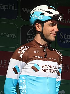 Tony Gallopin French road bicycle racer
