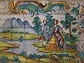 226 Palau del Marqués de Dosaigües (València), mosaic de la sala de carruatges.jpg