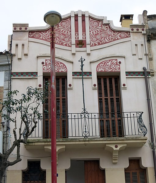 File 228 casa joan calls pl oliveres 5 la garriga jpg wikimedia commons - Casa la garriga ...