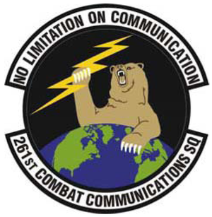 261st Cyber Operations Squadron - 261st Combat Communications Squadron emblem