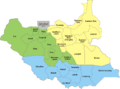 28 States of South Sudan within regions.png