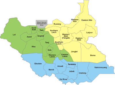 States of South Sudan  Wikipedia