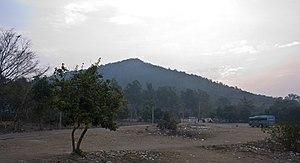 Susunia - Front view of Susunia hill.