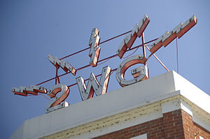 Triple M Riverina 1152 - Image: 2WG Sign