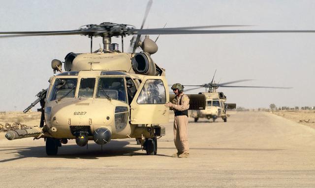 301st RQS Pave Hawks at Tallil Air Base
