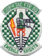 308th Tactical Fighter Squadron - 1980s- Emblem