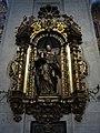 384 Catedral de San Salvador (Oviedo), Santa Eulàlia de Mèrida, fornícula al deambulatori.jpg