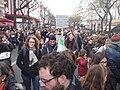 3 Marche républicaine 11 janvier 2015 Paris - Une pancarte kurde parle de Kobané AB P1340198.jpg