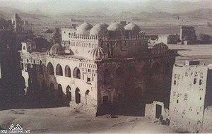 Qadad - The Amiriya School, built of qadad