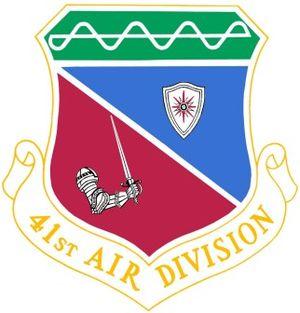 41st Air Division - Image: 41st Air Division crest