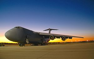Dayton, Ohio - C-5 Galaxy at Wright-Patterson AFB
