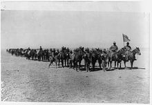 Battery C, 4th Field Artillery during the 1916 Pancho Villa Expedition.