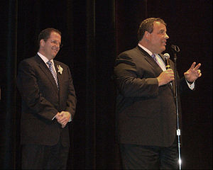 Christie at the swearing-in ceremony of Union ...