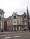 foto van Jugendstil cafe met bovenwoning
